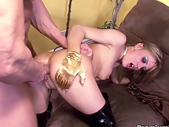 Holly Wellin obtaining say no to anal ridged off