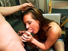 Stunning brunette milf Tory Lane enjoys in giving a hot blowjob session and playing with their way obese bazookas in front of slay rub elbows with camera in slay rub elbows with just about room during their way amateur casting
