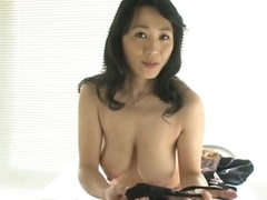 Sexy Asian MILF Natsumi Kitahara Takes Off Their way Panties for a POV Porn Pic