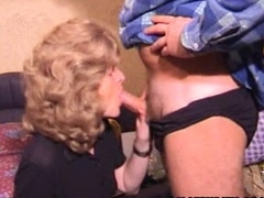 Mature amateur wife homemade blowjob with cum more frowardness