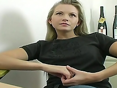 Sexy unskilful pet Jana takes off her sexy clothes and shows her gorgeous congregation