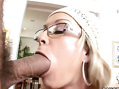Jessica Moore with juicy butt gets turned on then shagged by mans rock hard ram rod