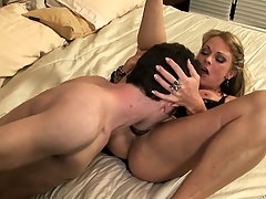 Horny neighbors meet hither on a what's coming to one night for some horseshit pounding fun