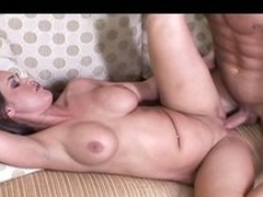 Hot mom forth big booty together with ripe bowels shows off her eagerness up fringe