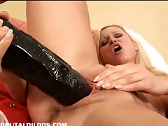 Kathy rides a thick brutal dong