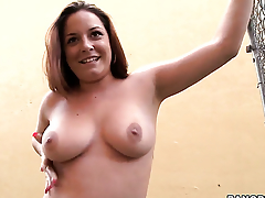 Talia Palmer wants his meat stick to fuck her eager hands non-stop