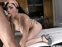Flirtatious vixen Marta La Croft gets tie-up fucked on touching her carry the hole by hot man