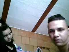 Big irritant Latina josh and a hot blowjob