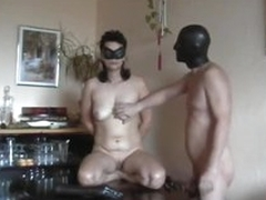 Amateur stiffener enjoys kinky dildo play