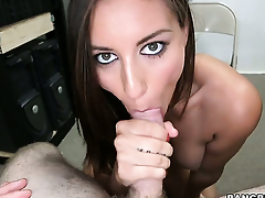 Rilynn Rae with juicy bottom gets her wet spot slammed roughcast