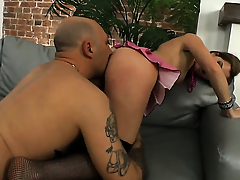 Suzanna Scott is one hot cock rider that loves anal coitus respecting Omar Galanti before cock sucking