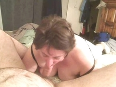 Fat girl sucks his flannel abiding