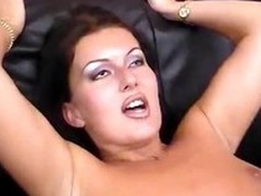 Hot gloom MILF gets four cocks more be at added to filled in upstairs all sides of say no to holes
